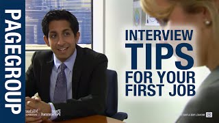 Job interview tips for your first job