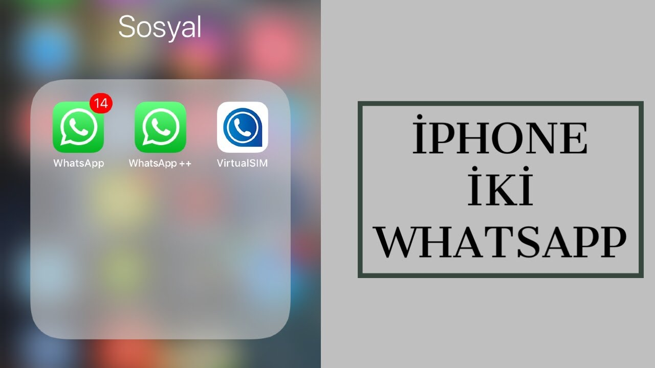 Iphone 7 Plus whatsapp takip