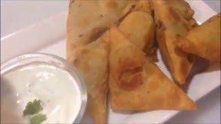 Crunchy Aloo Samosas In a Samosa Maker Nazkitchenfun