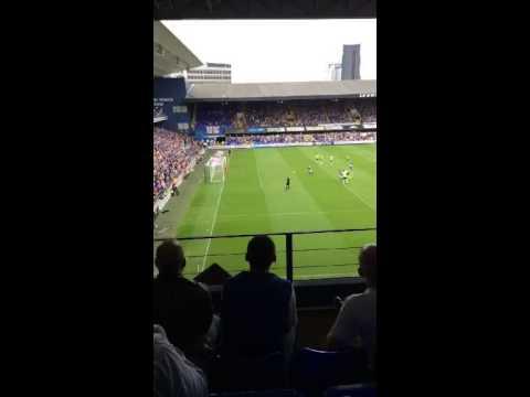 David McGoldrick penalty goal vs Brighton 15/16