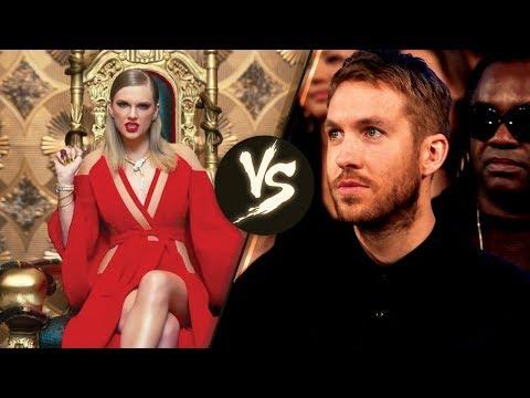 Calvin Harris SHADES Taylor Swift's 'Look...