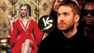 Calvin Harris SHADES Taylor Swift's 'Look What You Made Me Do' Music Video Premiere at the VMAs