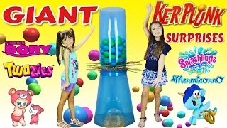 GIANT KerPlunk Family Fun Games for Kids - Disney Finding Dory, Twozies, Splashlings,Tokidoki