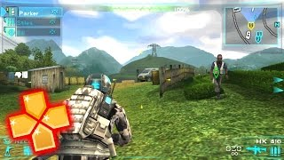 Ghost Recon Predator PPSSPP Gameplay Full HD / 60FPS [Glitchy]