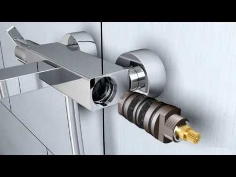 grohe automatic 2000 thermostat renovation doovi. Black Bedroom Furniture Sets. Home Design Ideas