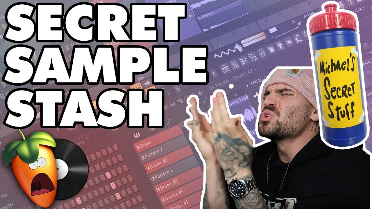ANOTHER not so SECRET SAMPLE STASH and HOW TO FLIP THEM | (FL Studio
