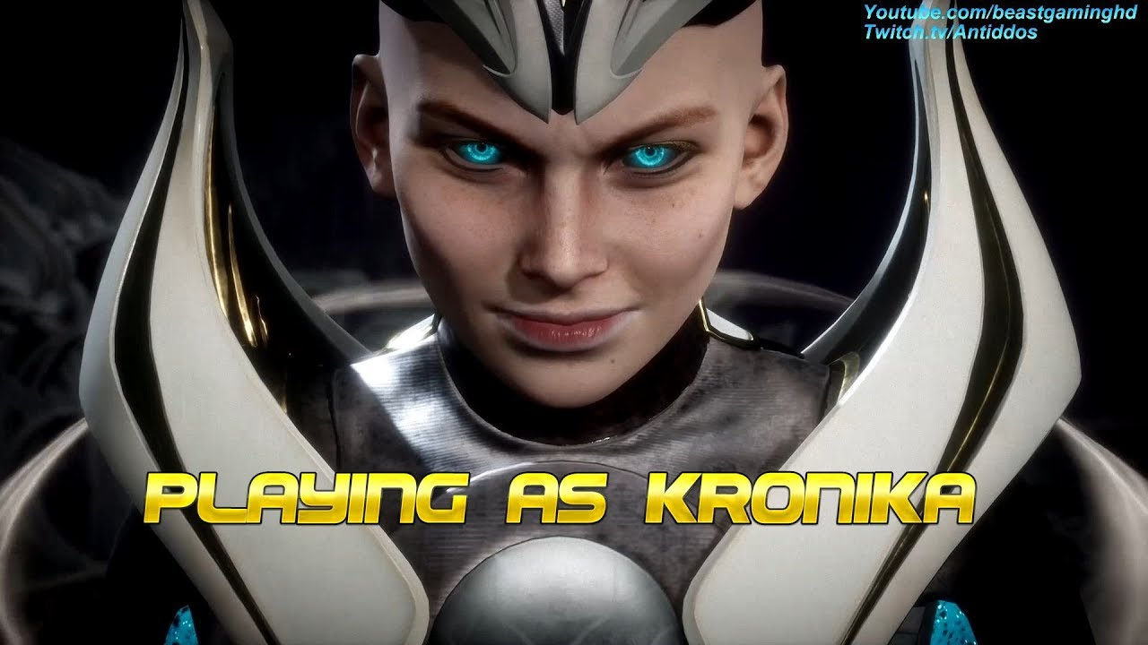 Mortal Kombat 11 - Playing as Kronika (The Last Boss) *MOD*