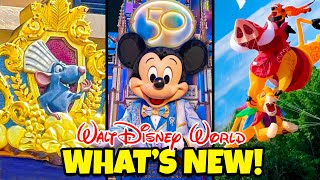 Top 10 New Riḋes & Attractions for Walt Disney World's 50th Anniversary