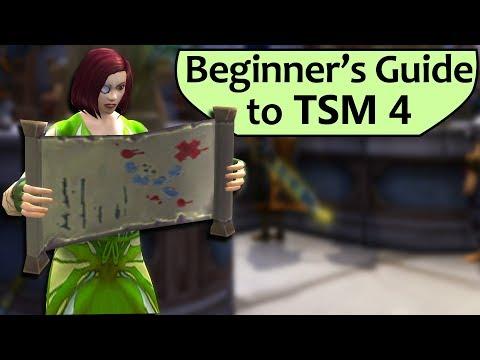 Intro To TradeSkillMaster 4 For Beginners - TSM 4 Setup Guide