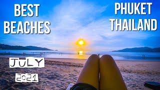 PHUKET THAILAND 2021 BEST BEACHES KATA BEACH KAMALA BEACH PATONG BEACH Pinoy in Thailand 4K DRONE