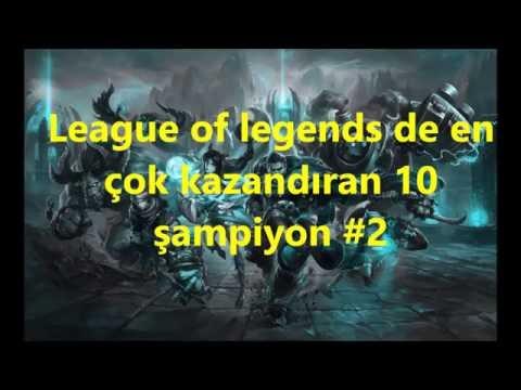 League Of Legends De En çok Kazandıran 10 şampiyon #2