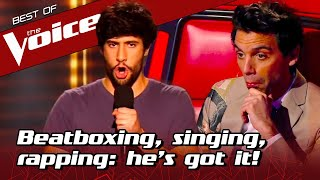 Multi-talented LOOPING ARTIST shocks the coaches with UNIQUE sound in The Voice
