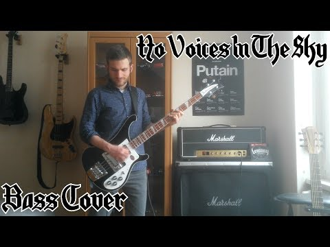 Motörhead - No Voices In The Sky [BASS COVER]