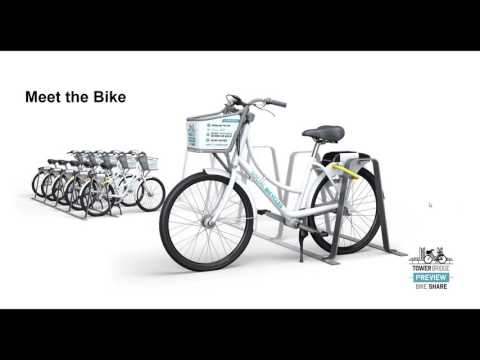Tower Bridge Bike Share Preview