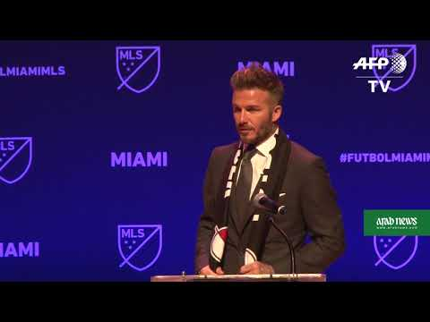 Football: Beckham awarded Major League Soccer franchise in Miami