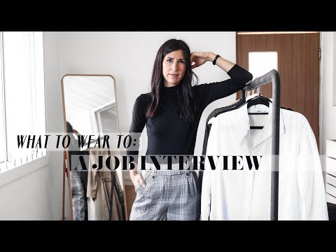 What To Wear To A Job Interview - Corporate Professional Office Outfit Ideas | Mademoiselle