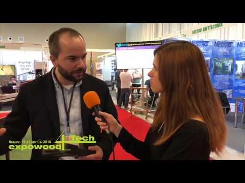 Wood IQ la Expowood 2018: Demonstratie LIVE cu un router CNC