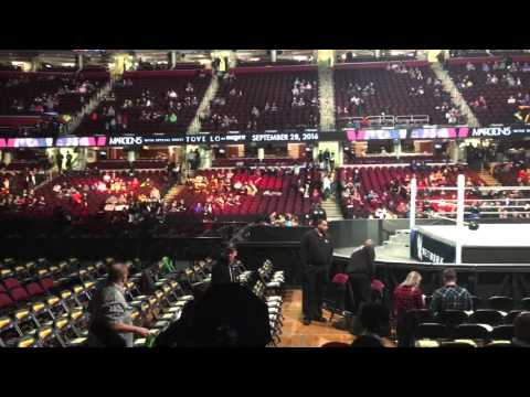 WWE FASTLANE Quicken Loans Arena Clevland Ohio 2/21/2018
