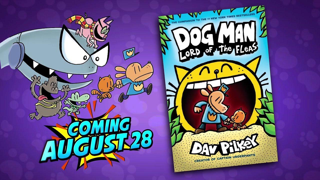 Sneak Peek of Dog Man Lord of the Fleas by Dav Pilkey