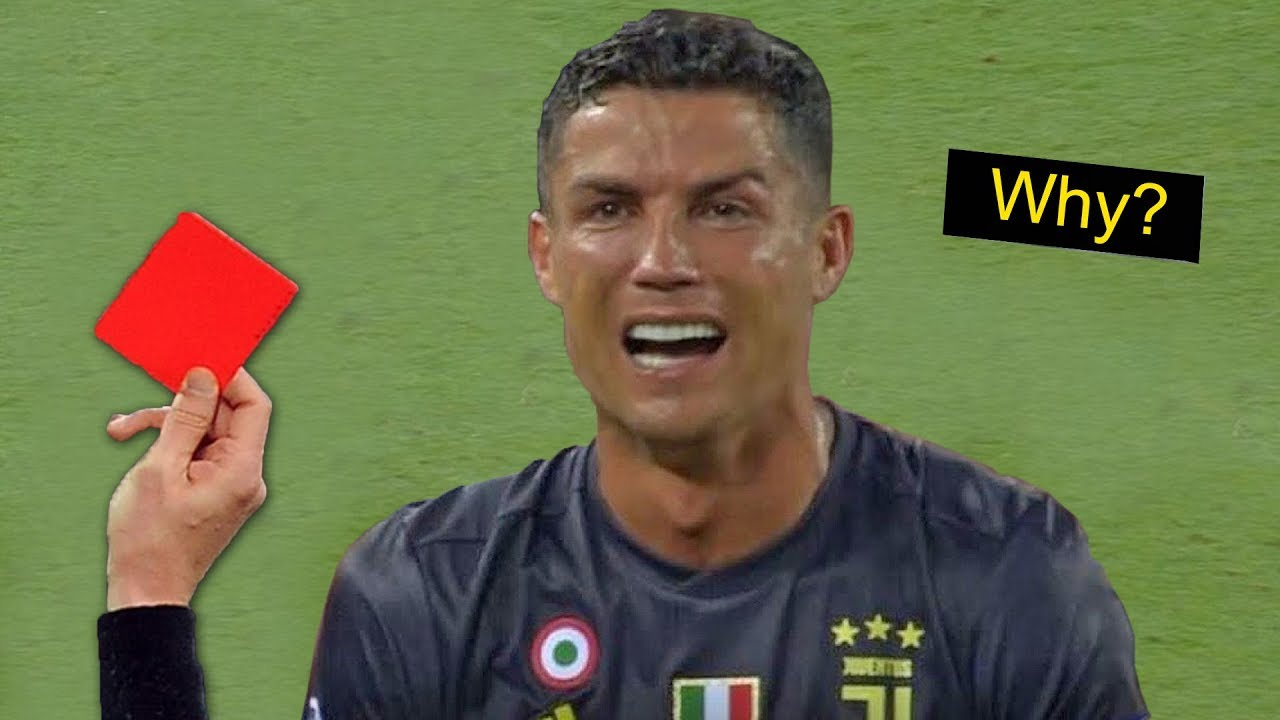 most-shocking-reactions-to-red-card-in-football-hd