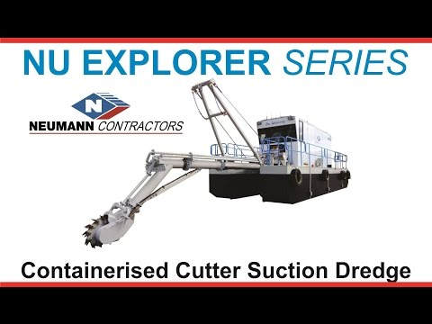 Nu Explorer Series Containerised Cutter Suction Dredge