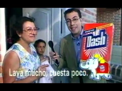 1997 detergente dash el reto de limpieza de dash for Anuncios de limpieza