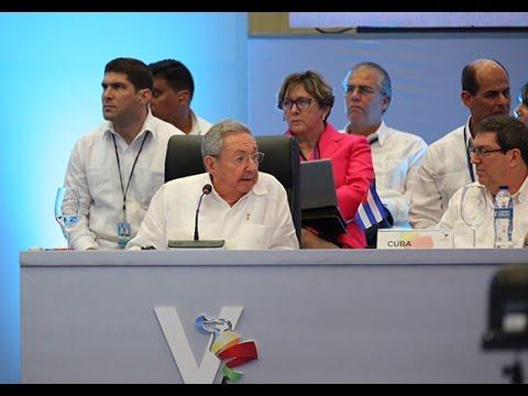 Intervención de Raúl Castro en V Cumbre de la Celac