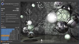 cINEBENCH бесплатная программа для теста производительности PC