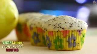 Vegan Lemon Poppy Seed Muffins Recipe