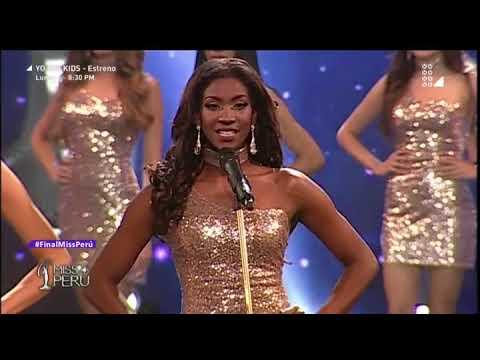 Miss Perú 2018 - 29 de octubre del 2017 programa completo