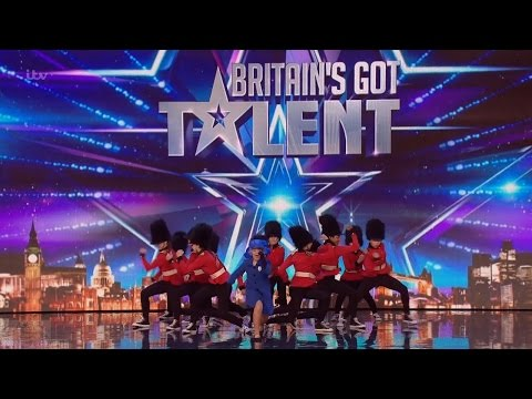 Britains Got Talent 2016 S10E01 Elite Squad Royalz Child Dance Troupe Full Audition