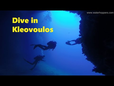 Dive in Kleovoulos Cave