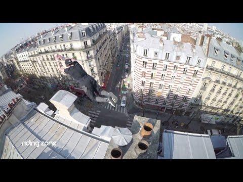 Défi Parkour : Saut De La Mort Sur Les Toits De Paris (feat. Yoann Leroux)