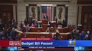 Congress Ends Brief Government Shutdown, OKs 2-Year Budget Deal