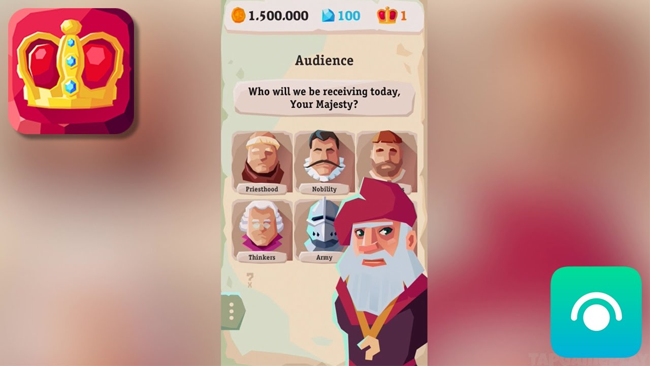 My Majesty - Gameplay Trailer (iOS, Android)