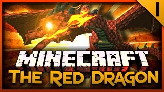 Minecraft Red Dragon Survival! (Hatching The Egg) Episode #1