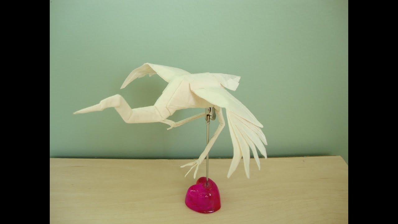 Origami Dancing Crane by Robert Lang - YouTube - photo#42