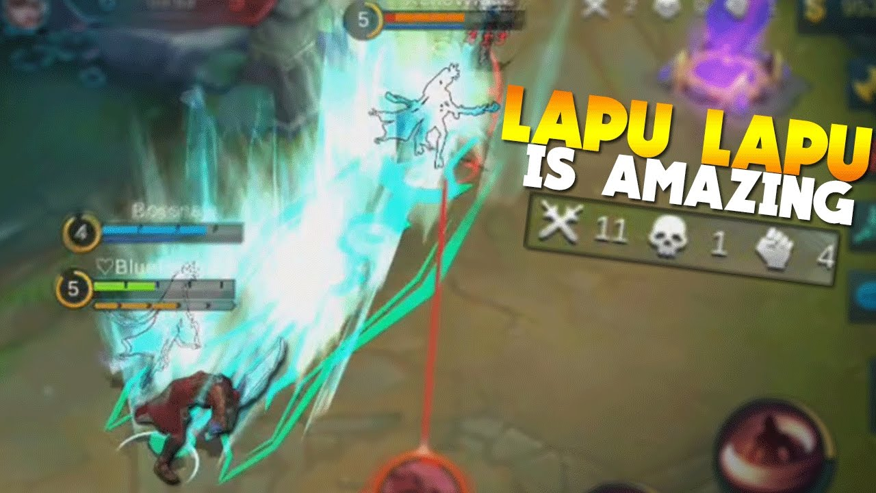 Mobile Legends LAPU LAPU GAMEPLAY!! (New Hero)