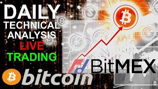BITCOIN LIVE Trading Keep your Longs!! - Bitmex Daily TA Leverage Trading Bitcoin BTC 22.01.2019