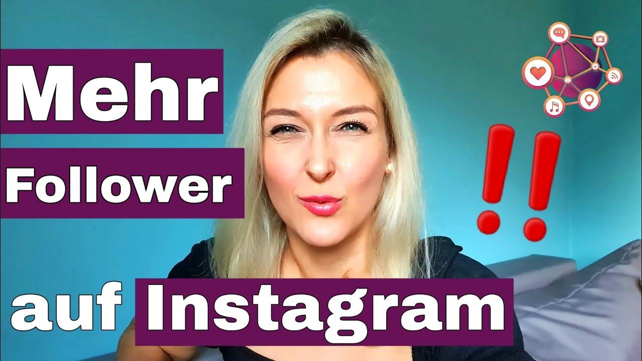 3 einfache Tipps für mehr Follower auf Instagram   Folge 1