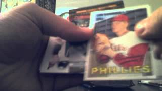 2 Wal Mart $20 Baseball Cards Re-pack Boxes Topps Upper Deck