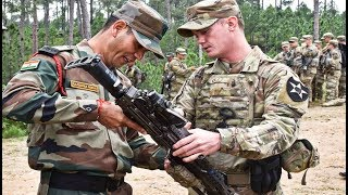 Indian Army Training With US Army | India And US Joint Army Training