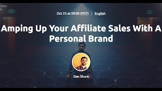 Amping Up Your Affiliate Sales With A Personal Brand thumbnail