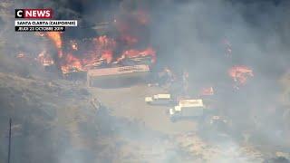 De violents incendies ravagent la Californie