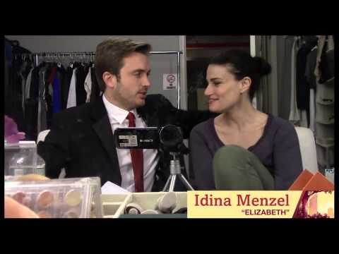 "Hey Kid: Backstage at ""If/Then"" with James Snyder, Episode 4: Idina Menzel Interview!"