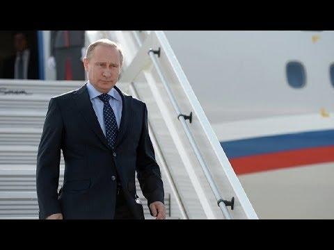 Смотреть Прилет Владимира Путина в Италию. Полное видео онлайн