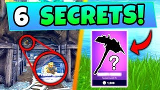Fortnite Tips: 6 FUNNY THINGS You DIDN'T KNOW! – Rarest Item, Secret Spot! (Battle Royale Gameplay)