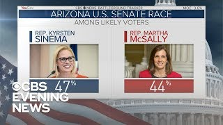 Arizona Senate candidates focus on national issues in midterm race
