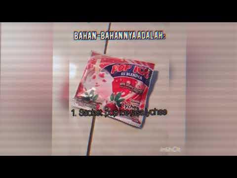 Bahasa Indonesia  Prosedur kerja praktek membuat Pop Ice resep dari Nayla Putri Yudianto VII B