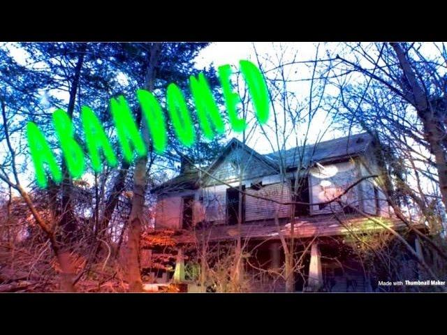 ABANDONED!!! McClellan house the Grafitti House!